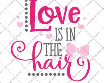 Download Love is in the hair   Etsy