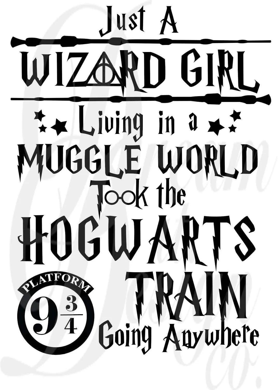 Harry Potter Quote Design For Silhouette Studio Cut Files