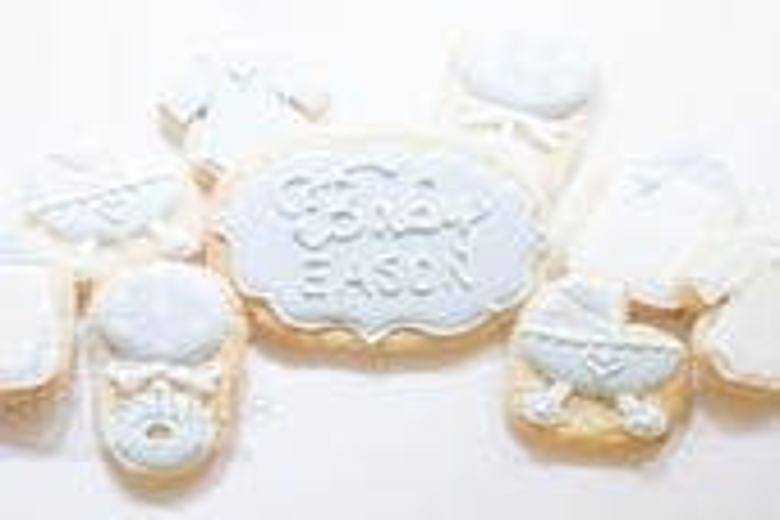 Baby Shower Sugar Cookies...