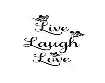 Download Live laugh love | Etsy