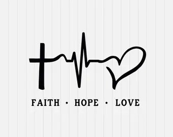 Download Faith hope love   Etsy
