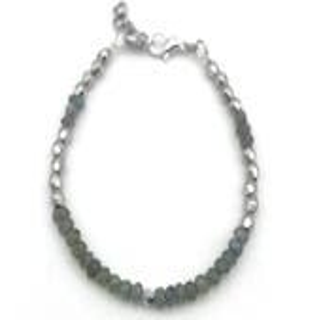 Labradorite Bracelet w/ S...