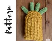 Crochet Pineapple Pillow ...