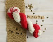 Candy Cane - Hand dyed so...