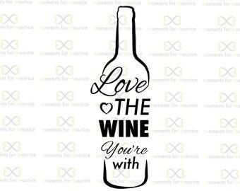 Download Love wine bottles   Etsy
