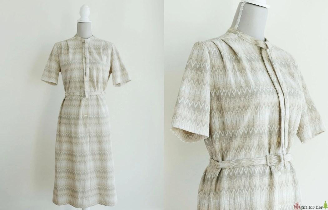 70s St Michael Midi Dress...