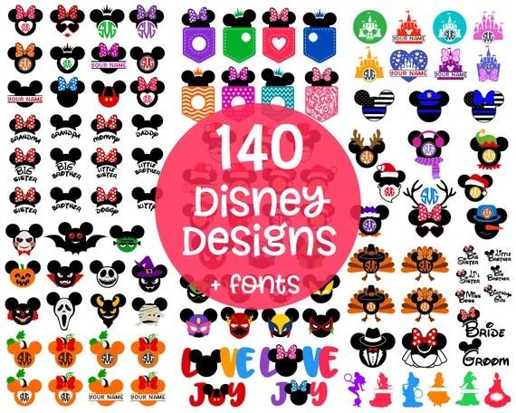 Download DISNEY Svg Disney Cut Files Svg Disney Bundle Mickey ...