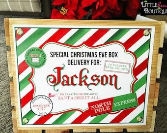 Christmas eve box | Etsy