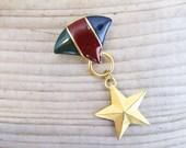 Vintage M Jent brooch, mi...