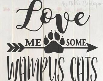 Download Cat love svg | Etsy
