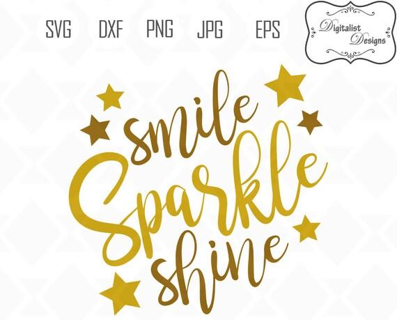 Download Sparkle svg Smile svg Shine svg Glitter svg smile sparkle