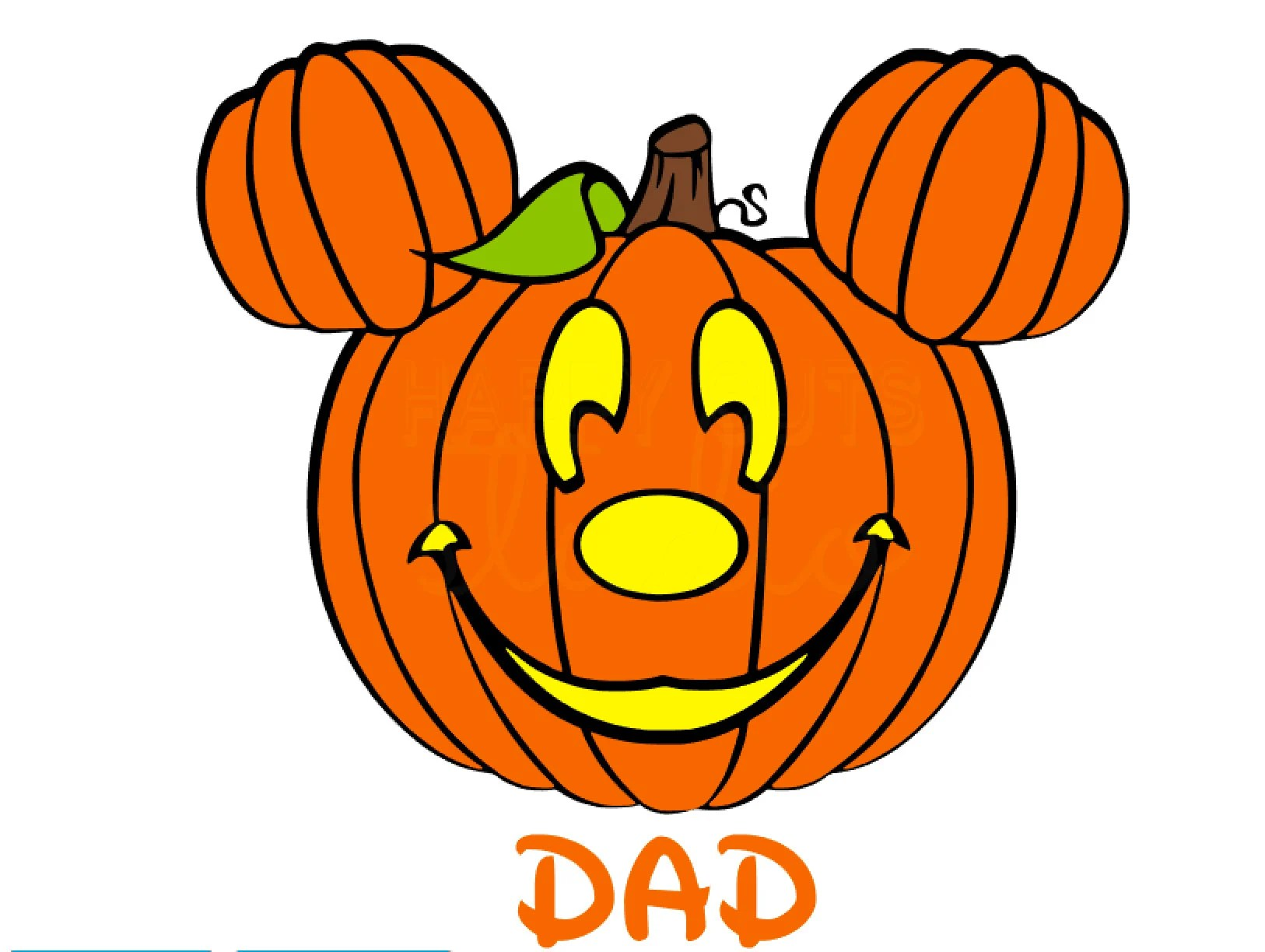 Mickey Mouse Pumpkin Halloween Disney Matching Family Vacation
