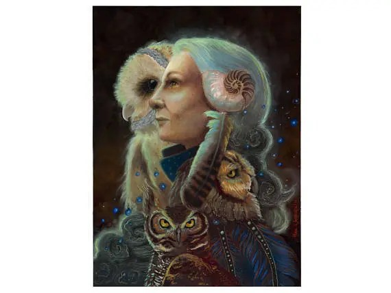 Mother Night Owl Art and ...