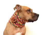 Winter Scarf for a Dog, C...