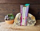 Petrified Wood Bookends /...