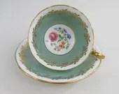 Vintage Aynsley teacup an...