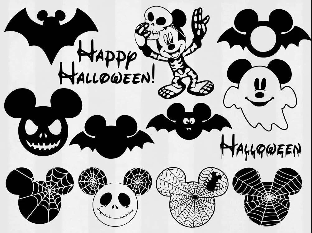 Download Mickey Halloween SVG Bundle Halloween clipart Disney cut