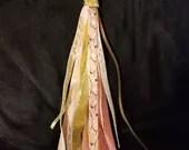 Pink and Gold Ribbon Tass...