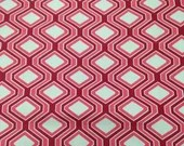 3 Yards Red Hexagon Home ...