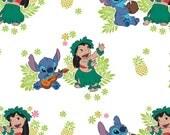 Lilo & Stitch Fabric,Hula...