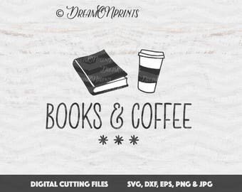Download Book lover svg | Etsy