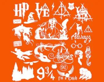 Download Harry potter svg   Etsy