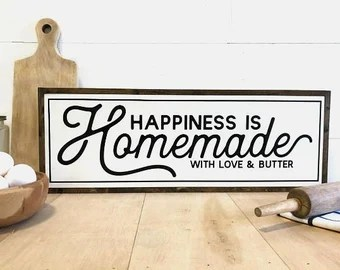 Download Happiness homemade   Etsy