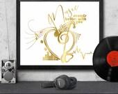 Wall art, Music art. Cust...