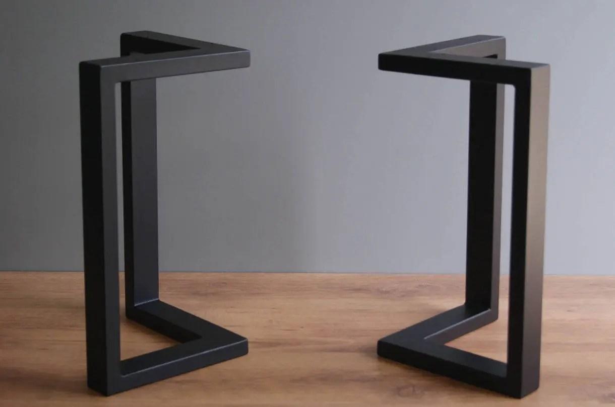 Steel Table Legs Etsy