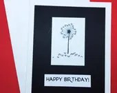 Happy Birthday card, roun...