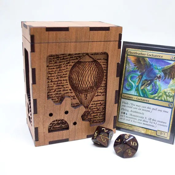 Steampunk Card Deck Box