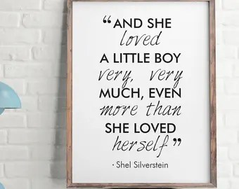 Download And she loved a little boy | Etsy