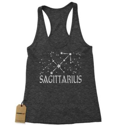 These tank tops make cute zodiac sign gifts!