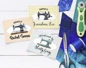Custom Fabric Labels ,Sew...