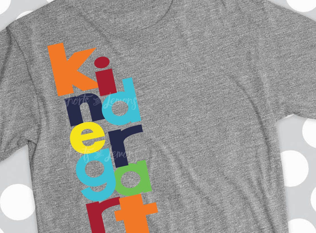 Kindergarten Svg Kindergarten Shirt Teacher Svgboys