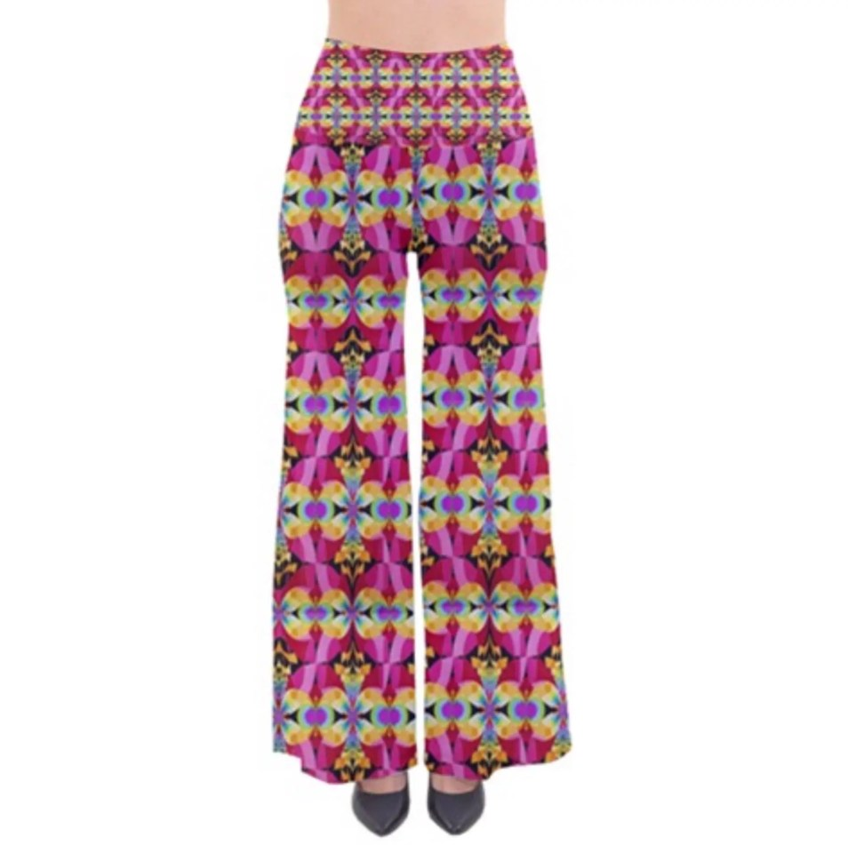 Living Rainbow Wide Leg F...
