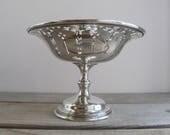 Antique pair Birks silver...