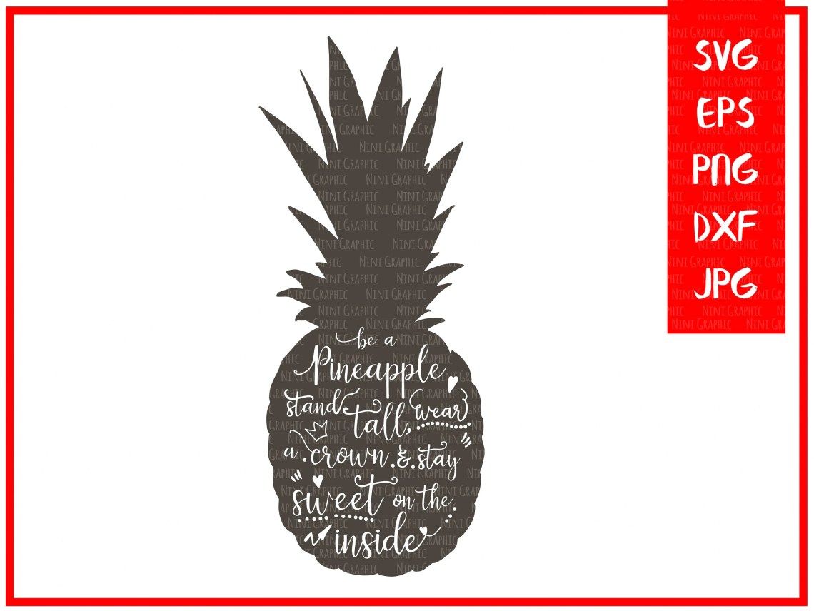 Download Pineapple SVG files for Silhouette svg files Cricut ...