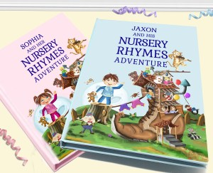 Timeless Nursery Rhymes and Poems Baby Book Gift