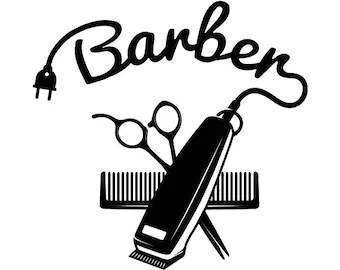 hairstylist clipart etsy