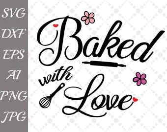Download Baked with love | Etsy