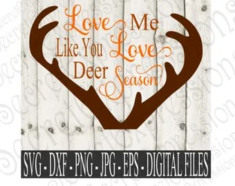 Download Love you deerly svg   Etsy