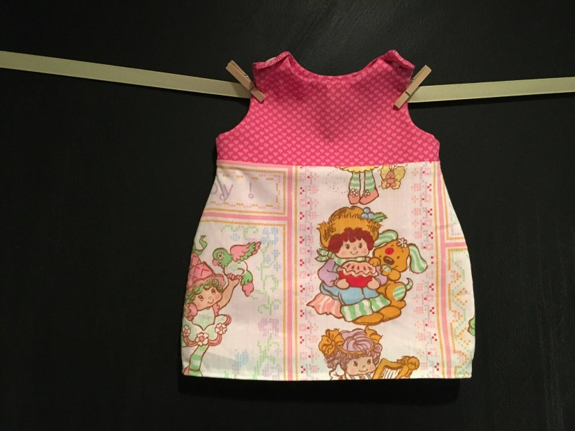 Baby Dress made with Vint...