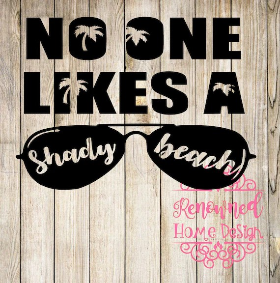 Download beach svg shady beach svg cricut cut file silhouette cut