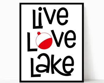 Download Lake quotes | Etsy