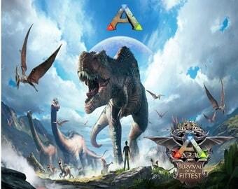 Ark Survival Evolved Etsy