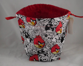 Angry Birds drawstring ba...