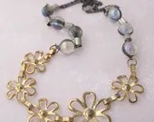 Vintage Brass Flowers and...