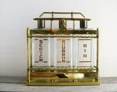 Vintage Brass Tantalus, m...