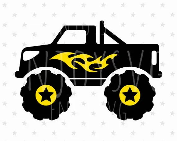 Download Monster truck SVG Monster truck Svg file Truck Svg file Truck
